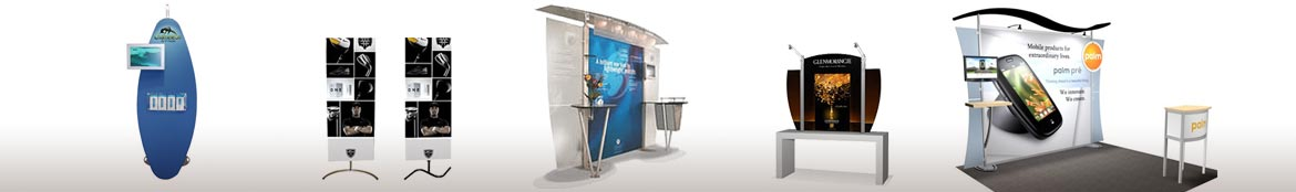 Trade show display solutions and ideas